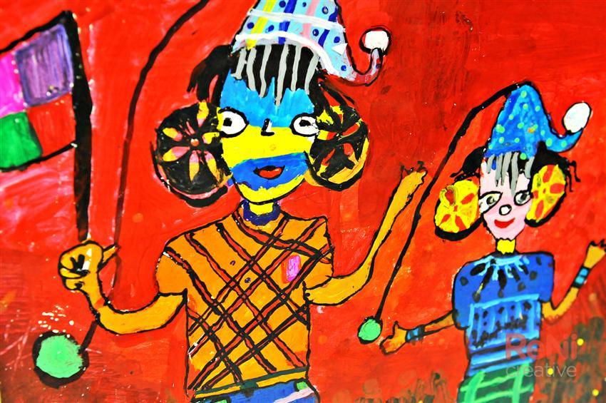 Fotogalerie - Zahajovací vernisáž - Mezinárodní dětská výtvarná výstava LIDICE 2013