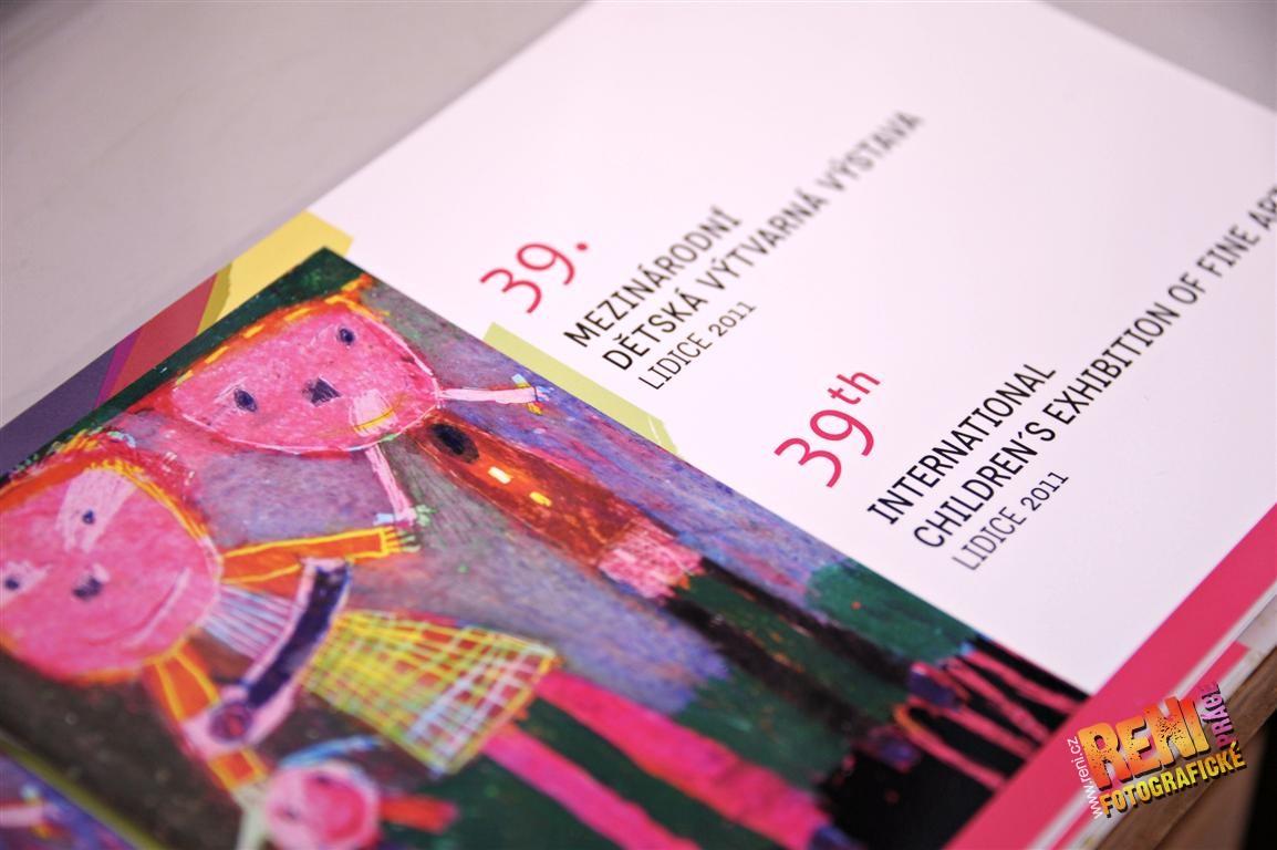 Zahájení Mezinárodní dětské výtvarné výstavy LIDICE 2011