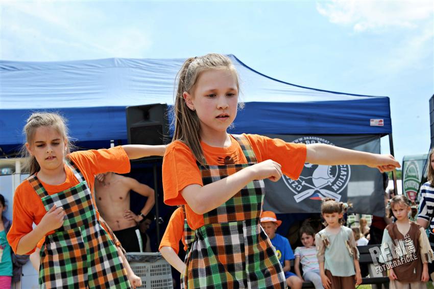 DRAČÍ LODĚ 2013 MOST - Vystoupení žáků ZUŠ Moskevská Most