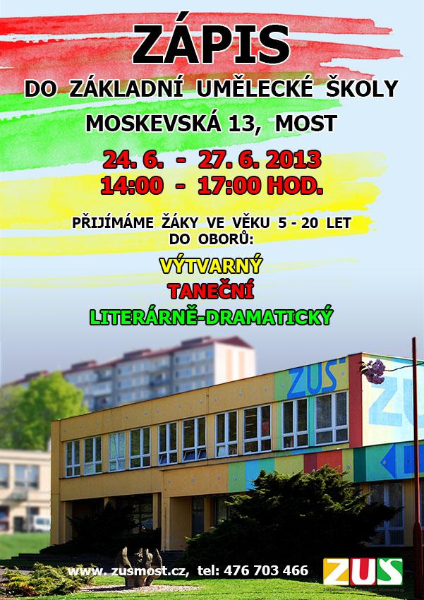 Zápis dětí na příští školní rok 2013-2014